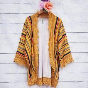 Other - ! Kids multi striped kimono